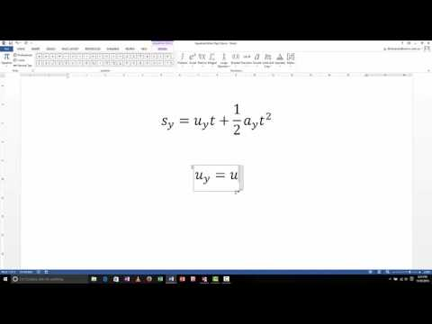 Equation Editor - Greek Letters