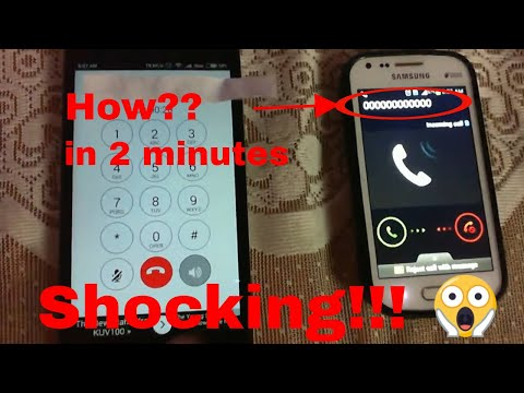 How to call someone with any other number (100% woking)