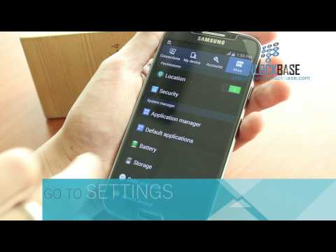How to find the IMEI (Serial Number) of your Samsung Galaxy S4