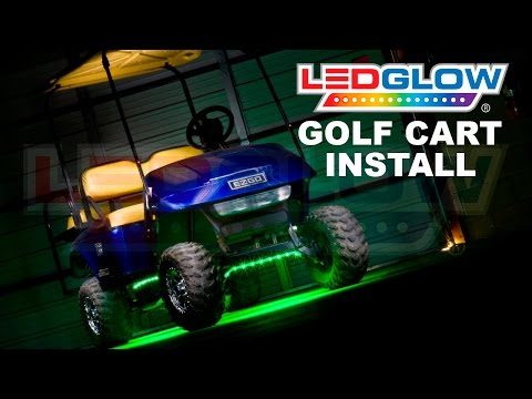 LEDGlow | How To Install Golf Cart LED Lights