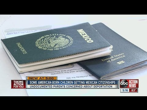 Undocumented parents rushing to get their American-born children Mexican citizenships