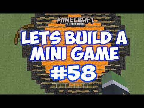 Minecraft Xbox - Lets Build A Mini Game World - 58 - THE LILY PAD GAME
