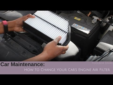 How to Change The Car Engine Filter