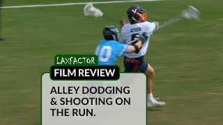 Download Lacrosse Film Review: Alley Dodging & Shooting On The Run Video