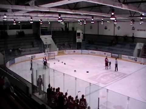 AAA Midget Hockey Fight - Stars Vs Argos - Goalie fight