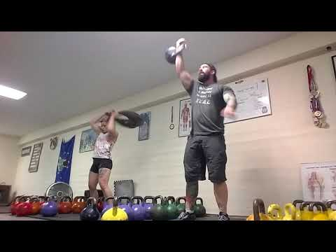 Fat Loss Program DAY 3 :  Kettlebell Sport Main Set SPEED ENDURANCE