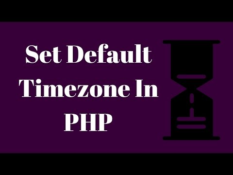 Set Timezone In PHP By Editing php ini File