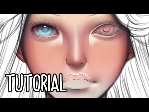 Skin Tutorial | Paint Tool Sai + Voice Over