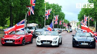 British made motors take over the Mall - Top Gear: Series 20 Episode 6 - BBC Two