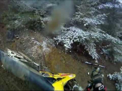 GoPro - Failed Hill Climb On A Dirt Bike