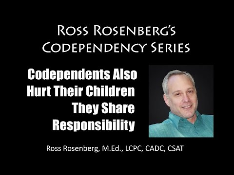Codependents Share Responsibility in Hurting their Children. They  Not Innocent. Expert
