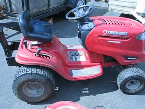 Problems with Troy Bilt Pony Riding Lawn Mower