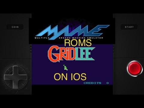 MAME emulator and roms for ios via Gridlee app no jailbreak needed
