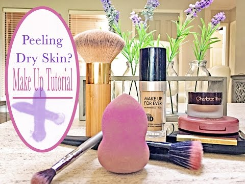 Make Up Tutorial | PEELING/DRY SKIN with RETIN A USE | MATURE SKIN Tips!!!