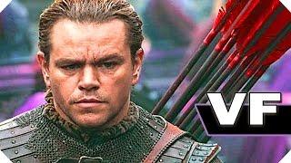 LA GRANDE MURAILLE (Matt Damon, 2017) - NOUVELLE Bande Annonce VF / FilmsActu