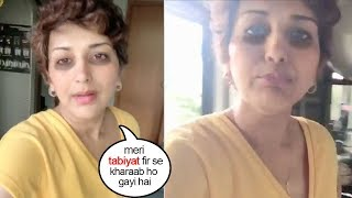 See Sonali Bendre Turns EM0TI0NAL As her He@lth becomes W0RSE Again