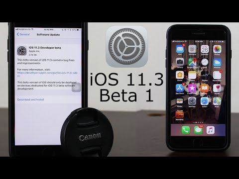 iOS 11.3 Beta 1 | What's New? | Install without Dev Account