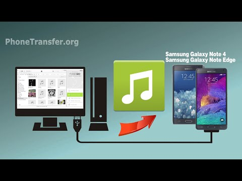 How to Import Songs to Galaxy Note 4, Copy Music from Computer to Samsung Galaxy Note Edge