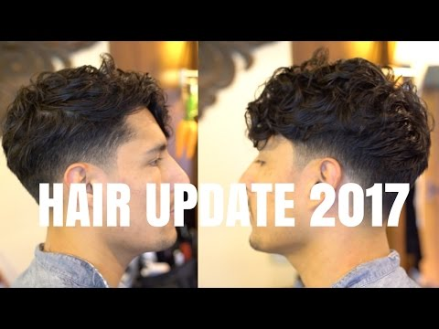 HAIR UPDATE 2017 + BEST ROUTINE | Long Top Short Sides