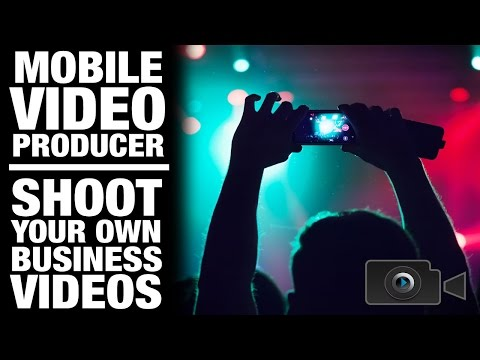 The Mobile Video Producer App - Shoot Your Own Business Videos, Commercial, Events, Testimonials