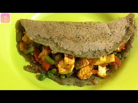 High Protein Vegetarian Bodybuilding Meal - Indian Style