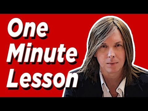 One Minute Vocal Lesson - Full & Bright High Notes - NYC Kevin Richards