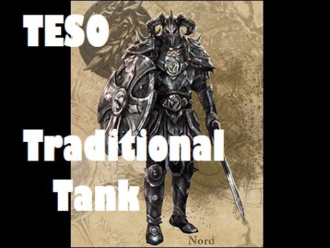 The Elder Scrolls Online - Traditional Tank Build (Theorycrafting)