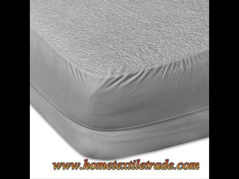 New Premium Customied Color Waterproof Fabric Mattress Protector