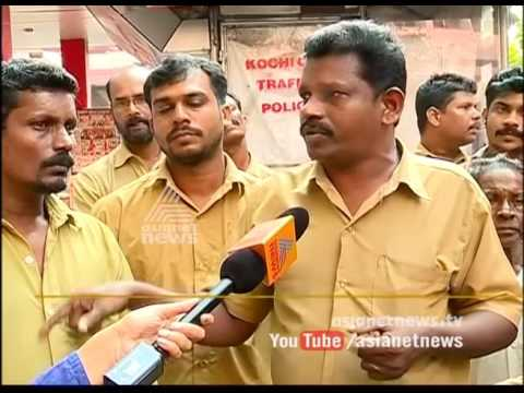 Online taxi Auto drivers issue | Auto drivers strike in Kochi city