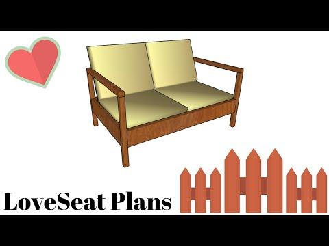 Loveseat Plans