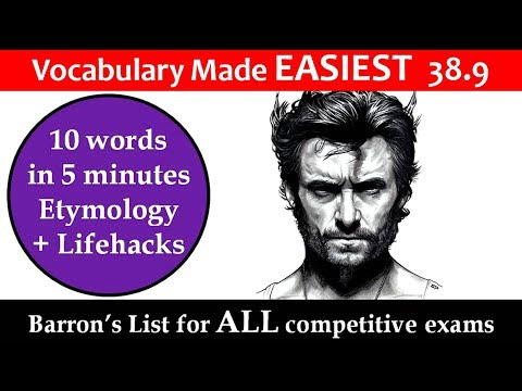 vocabulary made easiest 38.9 learn etymology by puneet biseria in hindi