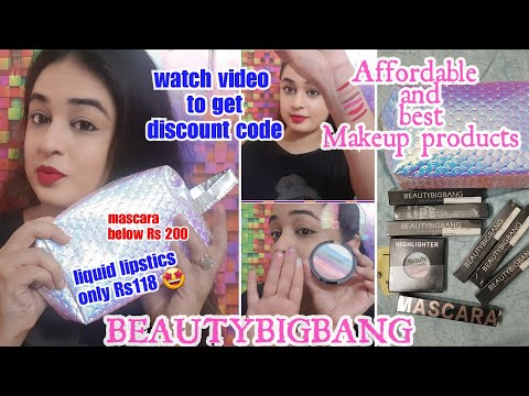 Beauty big bang Haul and Review / SUPER AFFORDABLE MAKEUP PRODUCTS / LIQUID MATTE LIPSTICS