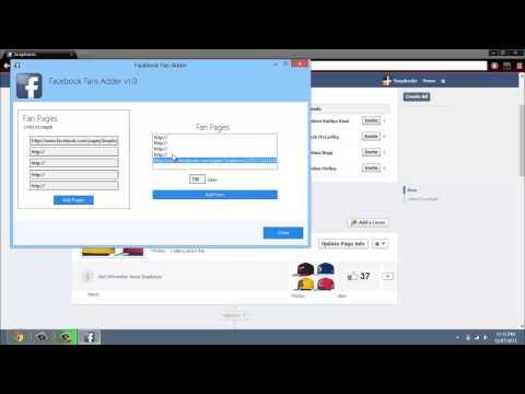 Facebook Fan Adder v2.15 - Get Real Fans for Your Facebook Page
