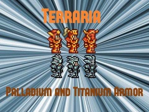 Terraria Palladium and Titanium Armor