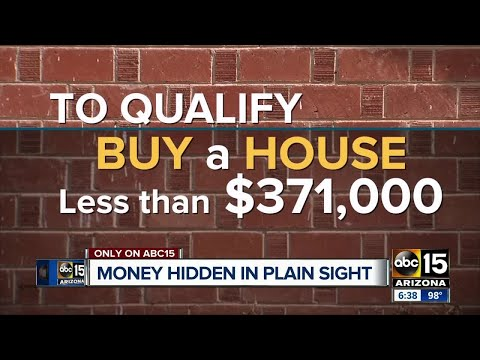 Looking for a house? AZ residents qualify for down payment money