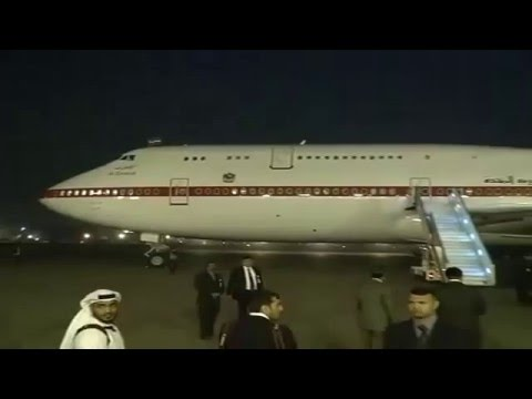 Arrival of State Visit of Crown Prince of Abu Dhabi to India