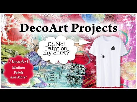 How To Fix Paint Stained Shirts with DecoArt