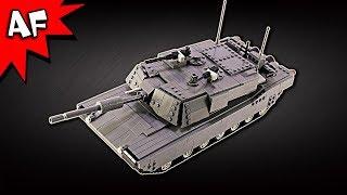 Custom Lego RC M1A2 Abrams Main Battle Tank MOC at BrickWow.com