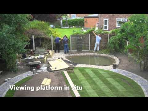 Creating a wildlife garden pond