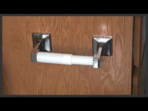 Toilet paper holder replacement