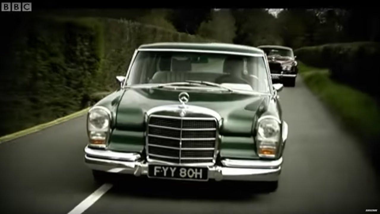 Classic Car Challenge: Grosser Mercedes Vs Rolls-Royce Corniche | Top Gear