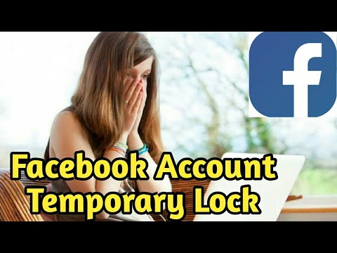 my facebook account temporarily locked how can unlock 2018 solution in hindi