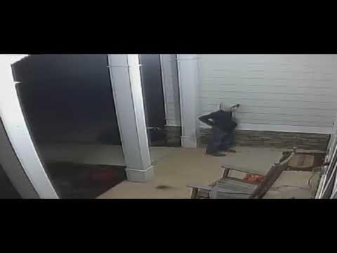A White Boy Sleep-Walking  or Prank - LaGrange GA