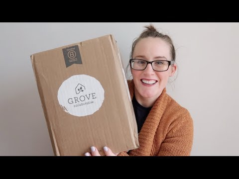 GROVE COLLABORATIVE UNBOXING / FIRST IMPRESSION | Cleaning product haul