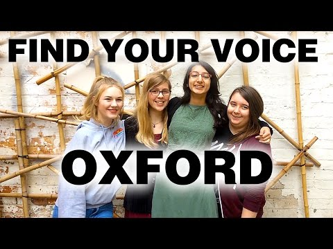 Find Your Voice - Oxford