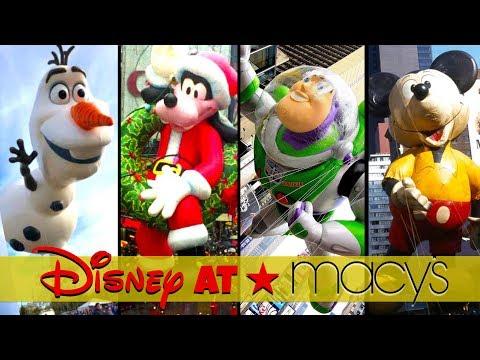 Top 10 Disney Balloons at the Macy's Thanksgiving Day Parade | Disney Parade History