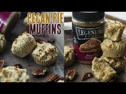 Pecan Pie Muffins - Legendary Foods Keto Recipe #AD