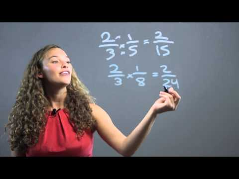 Teaching Multiplication of Fractions for 6th Graders : Math Concepts