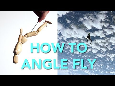 How to Angle Fly (I'm Learning) | Skydiving Vlog 061