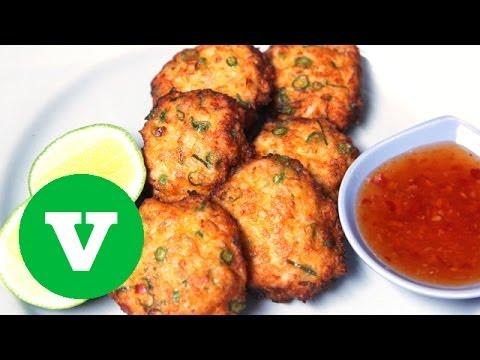Thai Fish Cakes: Asian Bites